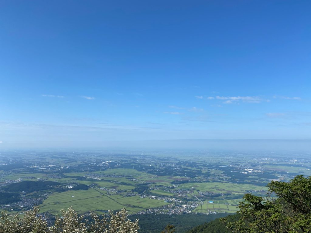 筑波山 頂上からの景色