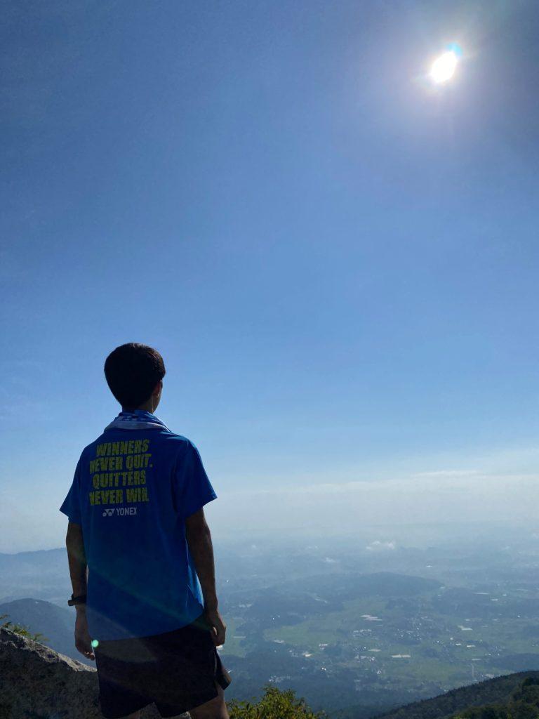 筑波山 頂上からの景色 女体山山頂