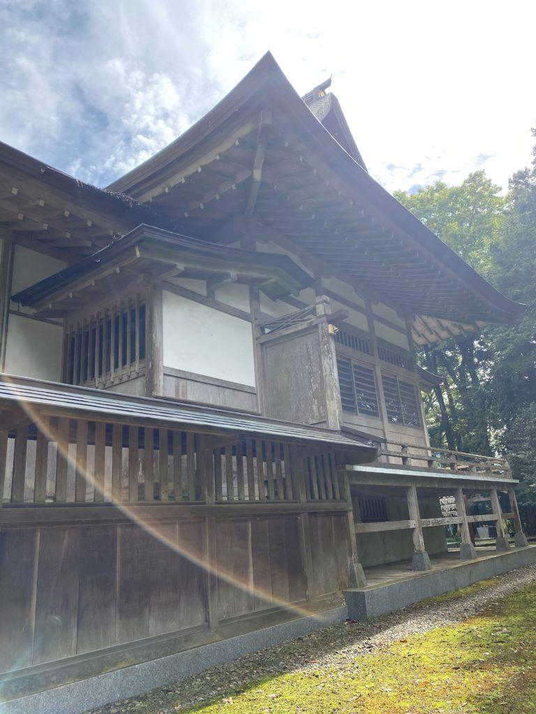 高田神社 拝殿