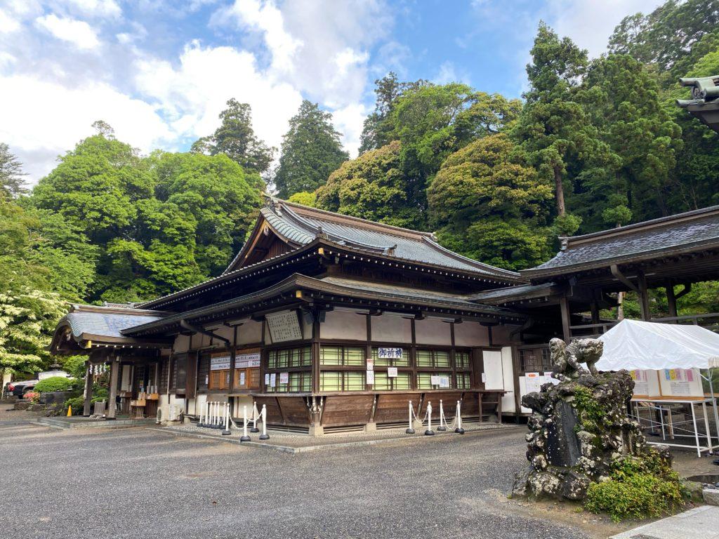 筑波山神社 境内